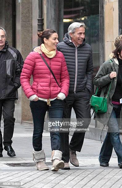 Imanol Arias and Irene Meritxel are seen on November 29 2014 in Gijon Spain