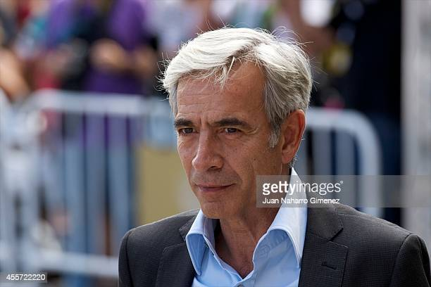 Imanol Arias arrives to Maria Cristina Hotel during 62nd San Sebastian Film Festival on September 19 2014 in San Sebastian Spain