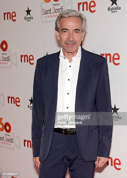 Imanol Arias poses during a photocall for the 'Sant Jordi' awards 2015 on April 11 2016 in Barcelona Spain