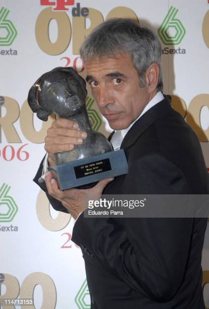 Imanol Arias Winner Best Actor during Spanish Television 'TP de Oro' Awards March 26 2007 at Theatre of Madrid in Madrid Spain