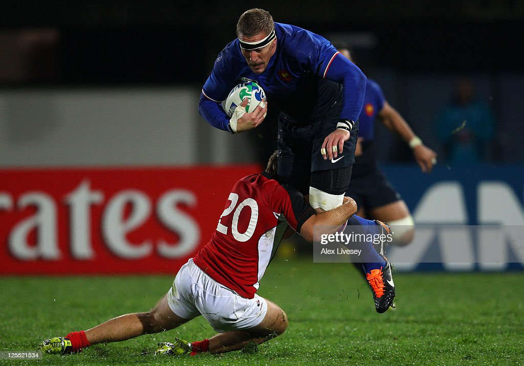 France v Canada - IRB RWC 2011 Match 19