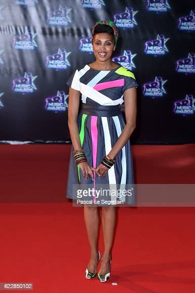 Imany attends the 18th NRJ Music Awards at Palais des Festivals on November 12 2016 in Cannes France