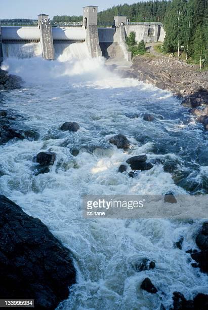 Imatra rapido flusso Finlandia