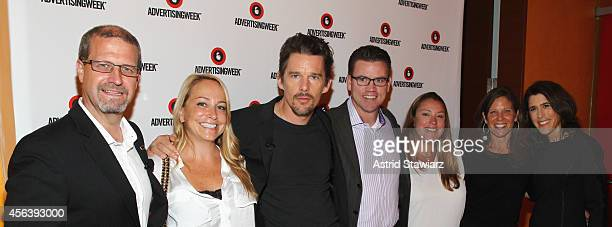 IMDb Managing Editor Keith Simanton IMDb Head of Original Content Emily Glassman Actor Ethan Hawke IMDb COO Rob Grady guests and Global VP...