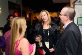 IMDb's head of PR and original content Emily Glassman Sundance Institute's executive director Keri Putnam and IMDb's founder and CEO Col Needham...