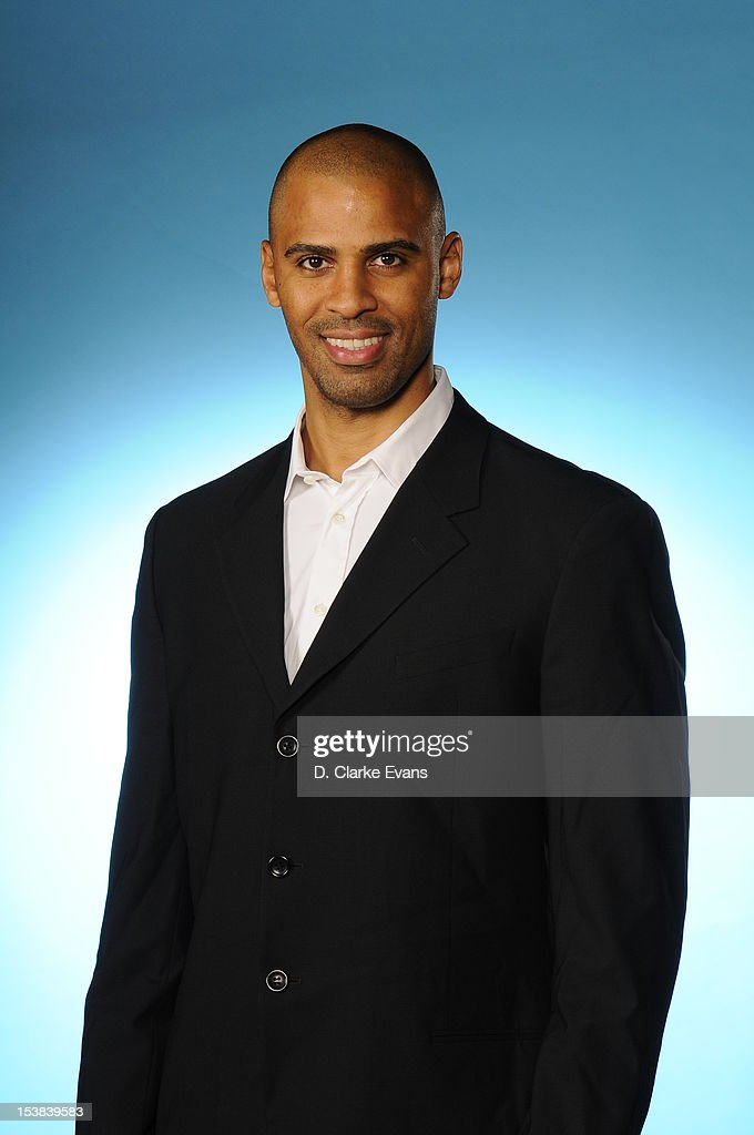 Ime Udoka assistant coach of the San Antonio Spurs poses for a photo during Media Day at the Spurs Practice Facility on October 1, 2012 in San Antonio, Texas.