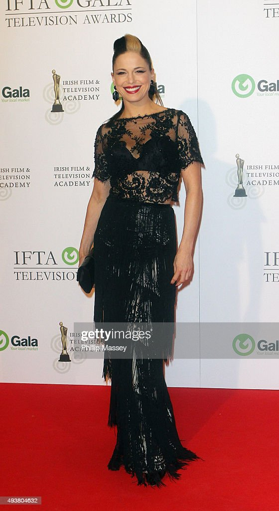 Imelda May attends the IFTA Gala Television Awards on October 22, 2015 in Dublin, Ireland.