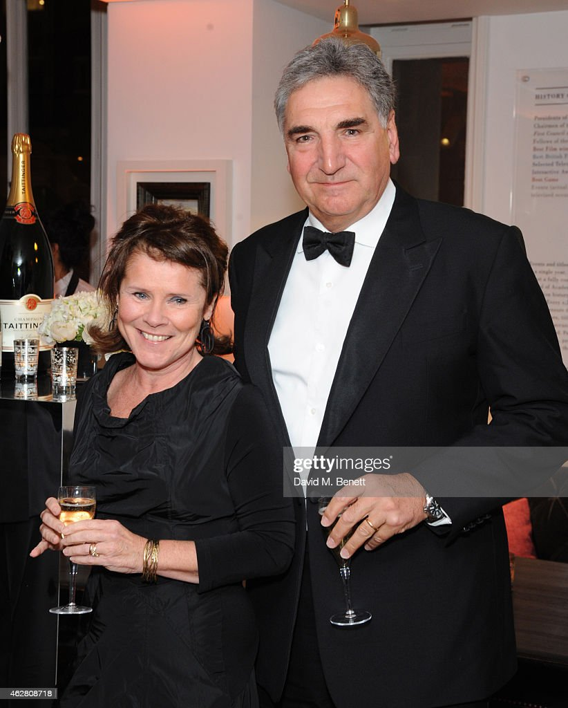 Imelda Staunton and Jim Carter attends the inaugural BAFTA Film Gala ...