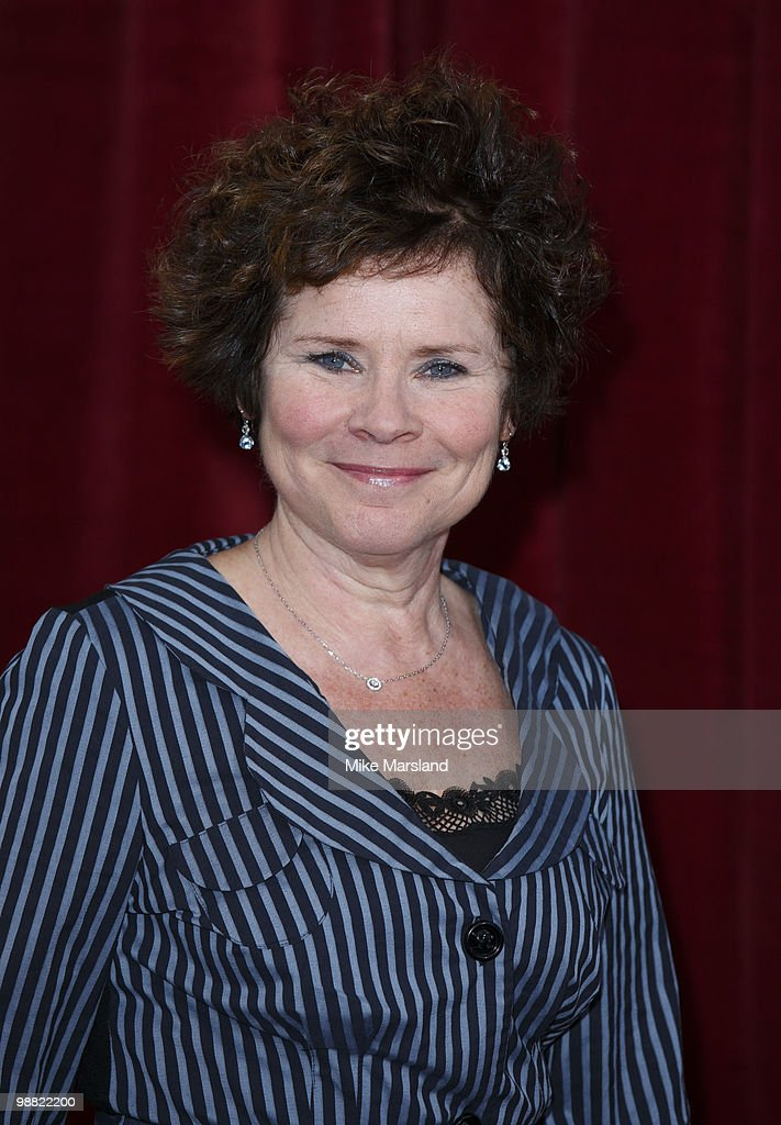 Imelda Staunton attends 'An Audience With Michael Buble' at The London Studios on May 3 2010 in London England