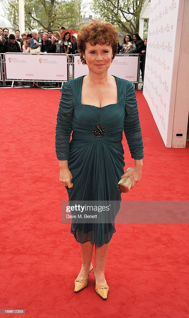 Imelda Staunton attends the Arqiva British Academy Television Awards 2013 at the Royal Festival Hall on May 12, 2013 in London, England.