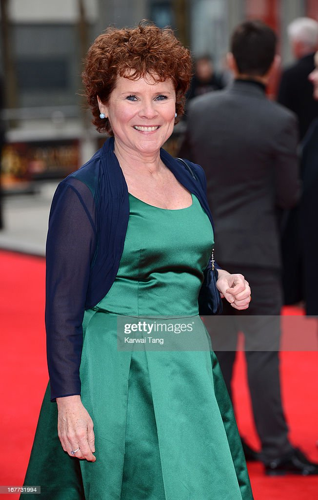 Imelda Staunton attends The Laurence Olivier Awards at The Royal Opera House on April 28, 2013 in London, England.