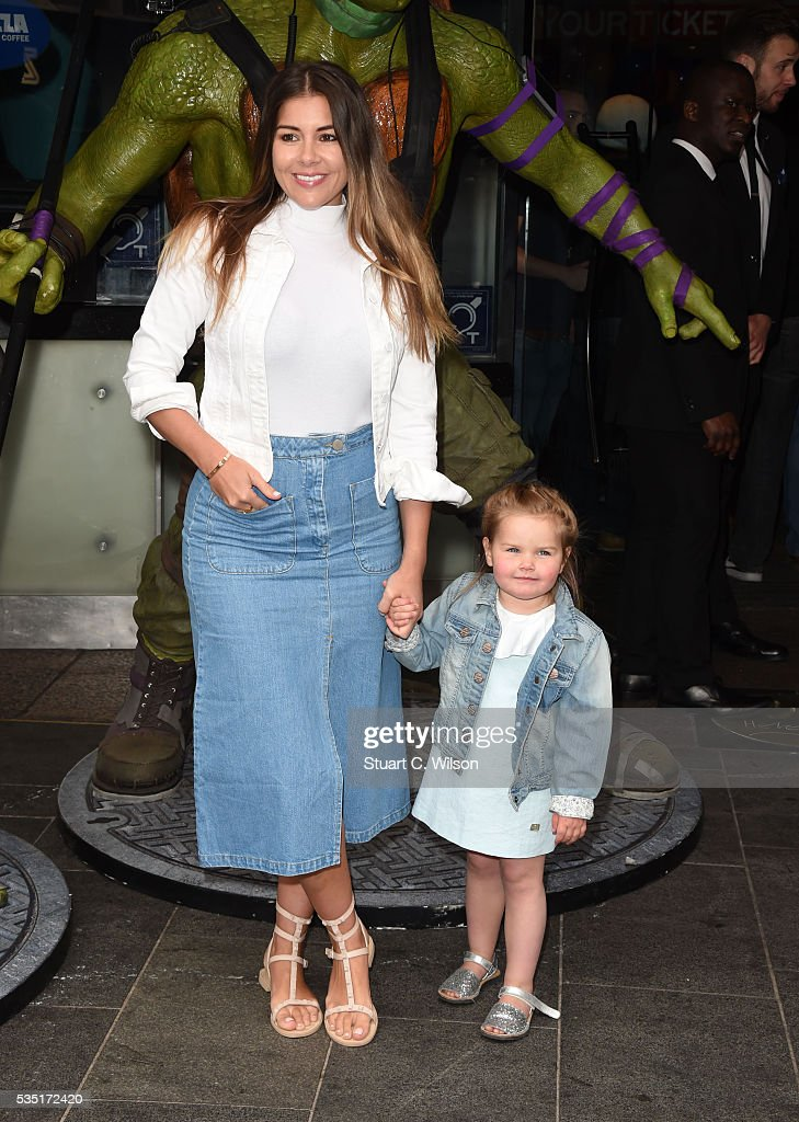 Imgoen Thomas arrives for the gala screening of 'Teenage Mutant Ninja Turtles: Out Of The Shadows' at Vue West End on May 29, 2016 in London, England.