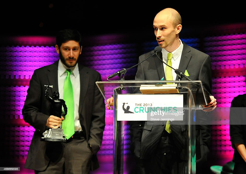 Imgur wins the award for Best Bootstrapped Startup at the 7th Annual Crunchies Awards at Davies Symphony Hall on February 10, 2014 in San Francisco, California.