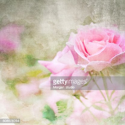 Imitation of the watercolor painting background : Stockfoto