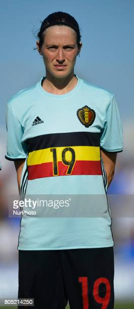 Imke Courtois during a friendly match between the national women's teams of Spain vs Belgium in Pinatar Arena Murcia Spain Friday June 30 2017