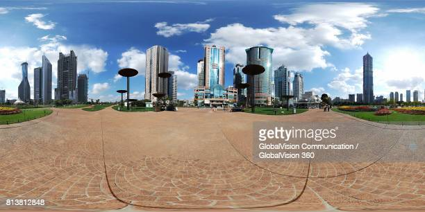 360° Immersive View of Guangzhou, China