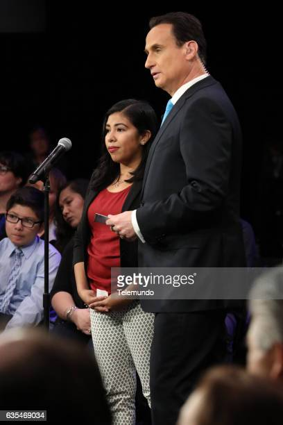 TELEMUNDO 'Immigration Town Hall' Pictured Town Hall Guest José DíazBalart Moderator at Universal Studios Hollywood February 12 2017