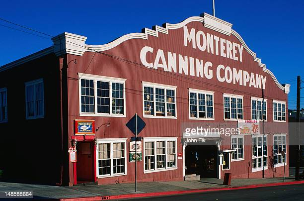 Immortalized in John Steinbeck's novel Cannery Row was the once flourishing business of sardine canning - Monterey Bay, California