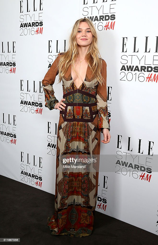 Immy Waterhouse attends The Elle Style Awards 2016 on February 23, 2016 in London, England.