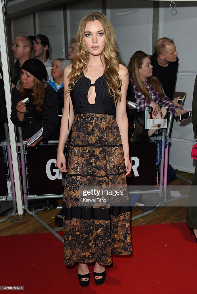 Immy Waterhouse attends the Glamour Women of the Year Awards at Berkeley Square Gardens on June 2, 2015 in London, England.