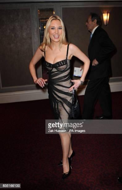 Imogen Lloyd Webber arrives for the Laurence Olivier Awards at the Grosvenor Hotel in central London