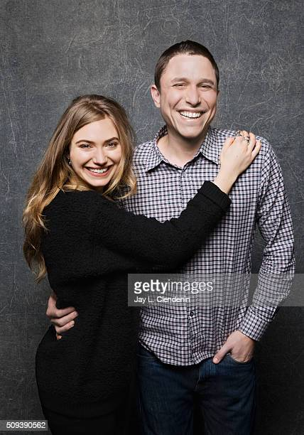 Imogen Poots and Matthew M Ross of 'Frank Lola pose for a portrait at the 2016 Sundance Film Festival on January 26 2016 in Park City Utah CREDIT...
