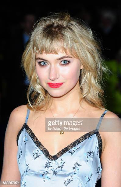 Imogen Poots arrives at the premiere of Filth at the Odeon West End in London