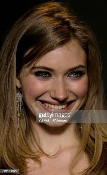 Imogen Poots arrives for the premiere of 28 Weeks Later at the Odeon Covent Garden on Shaftsbury Avenue central London PRESS ASSOCIATION Photo...