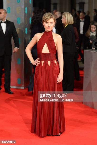 Imogen Poots arriving at The EE British Academy Film Awards 2014 at the Royal Opera House Bow Street London