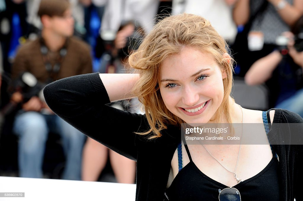 Imogen Poots at the photocall for 'Chatroom' during the 63rd Cannes International Film Festival.