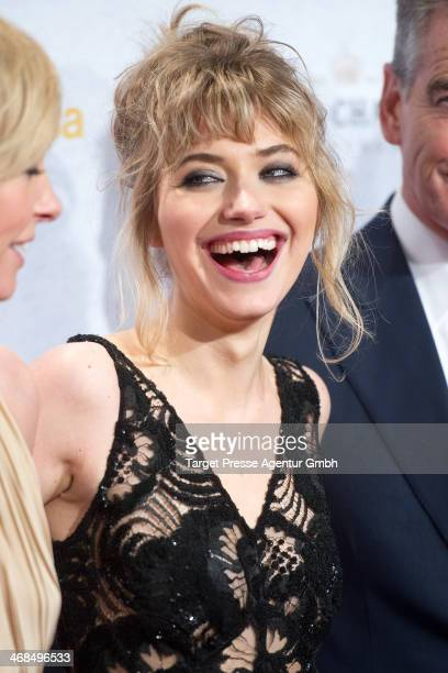 Imogen Poots attends the 'A Long Way Down' after premiere party during 64th Berlinale International Film Festival at Weekend on February 10 2014 in...