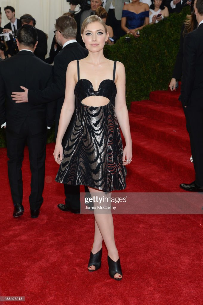 Imogen Poots attends the 'Charles James Beyond Fashion' Costume Institute Gala at the Metropolitan Museum of Art on May 5 2014 in New York City