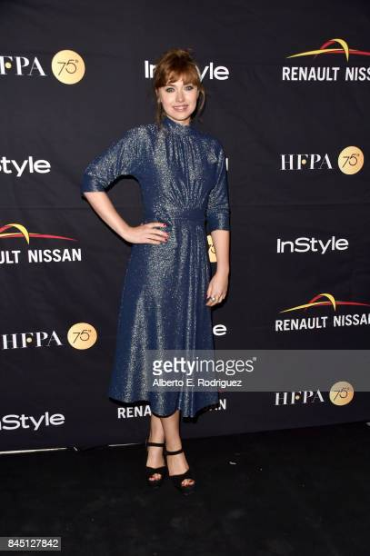 Imogen Poots attends the HFPA InStyle annual celebration of 2017 Toronto International Film Festival at Windsor Arms Hotel on September 9 2017 in...