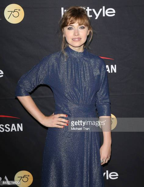 Imogen Poots attends the HFPA InStyle Annual Celebration of 2017 Toronto International Film Festival held at Windsor Arms Hotel on September 9 2017...