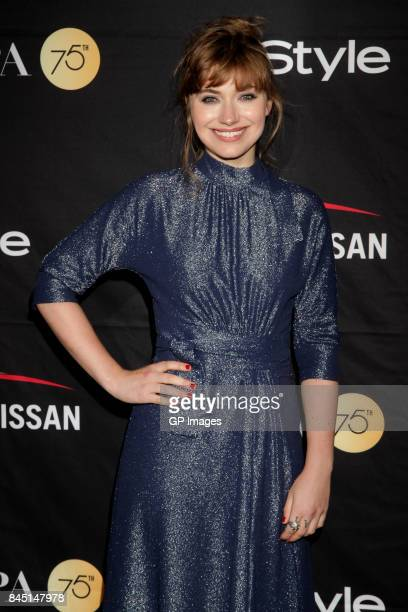 Imogen Poots attends The Hollywood Foreign Press Association and InStyle's annual celebrations of the 2017 Toronto International Film Festival at...