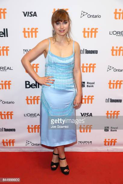 Imogen Poots attends the 'I Kill Giants' premiere during the 2017 Toronto International Film Festival at TIFF Bell Lightbox on September 9 2017 in...