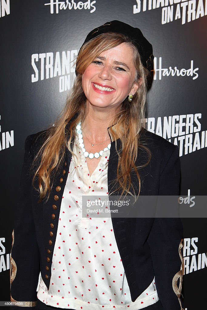 <a gi-track='captionPersonalityLinkClicked' href=/galleries/search?phrase=Imogen+Stubbs&family=editorial&specificpeople=213849 ng-click='$event.stopPropagation()'>Imogen Stubbs</a> attends an after party following the press night performance of 'Strangers On A Train' at the Cafe de Paris on November 19, 2013 in London, England.