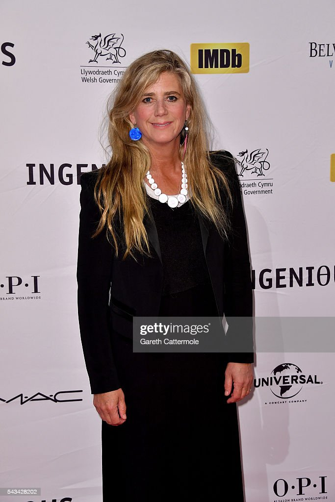 Imogen Stubbs attends the Natioanl Film and Television School's annual gala at Old Billingsgate Market on June 28, 2016 in London, England.
