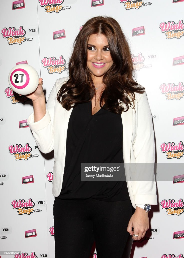 <a gi-track='captionPersonalityLinkClicked' href=/galleries/search?phrase=Imogen+Thomas&family=editorial&specificpeople=1963481 ng-click='$event.stopPropagation()'>Imogen Thomas</a> attends the Wink Bingo Celebrity Female Take Over on March 18, 2013 in London, England.