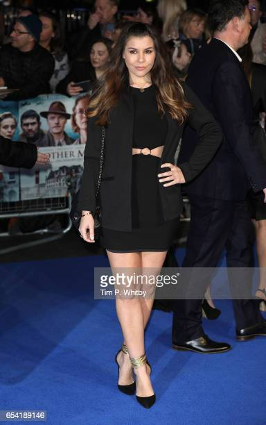 Imogen Thomas attends the World Premiere of 'Another Mother's Son' on March 16 2017 at Odeon Leicester Sqaure in London England