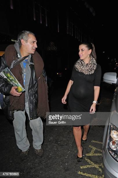 Imogen Thomas is seen on December 08 2012 in London United Kingdom