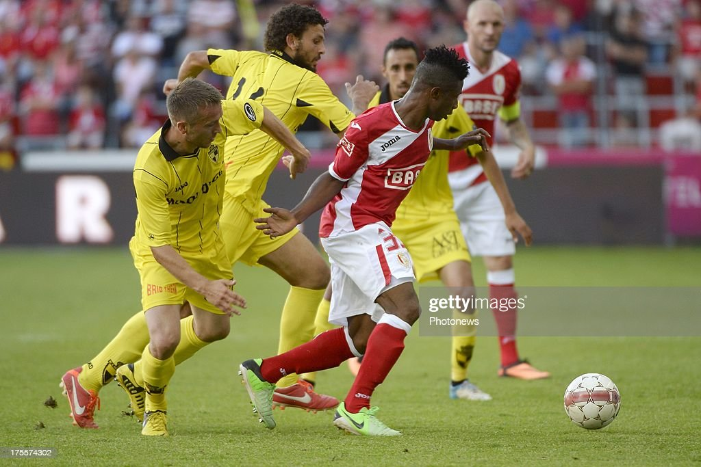 Imoh Ezekiel of Standard pictured during the Jupiler League match between Standard Liege and SK Lierse on Augustus 4, 2013 in Liege, Belgium. (Photo by Vincent Kalut & Jimmy Bolcina / Photonews