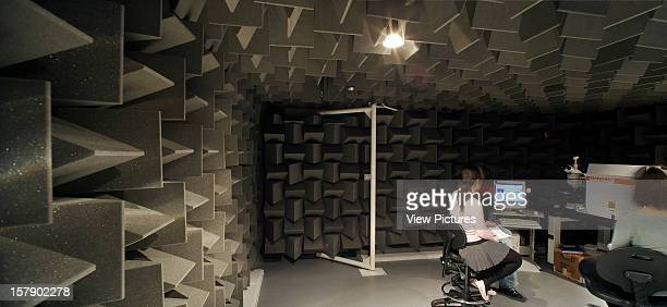 Imperial College London London United Kingdom Architect Sheppard Robson Imperial College London Sound Testing Suite 2