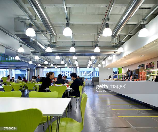 Imperial CollegeUnited Kingdom Architect London Wolfson And Weston Centre For Family Health Canteen Seating