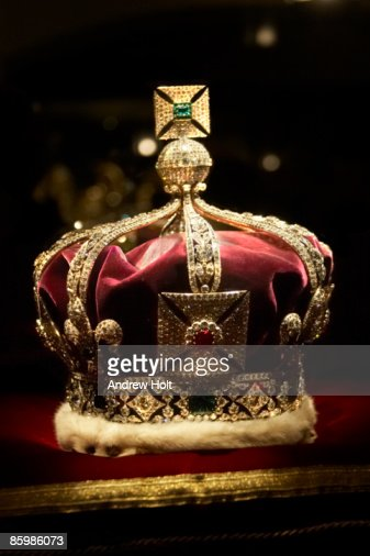 Imperial State Crown in Tower of London