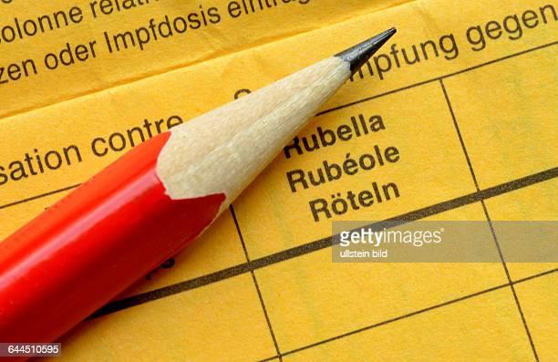 Impfbuch Roeteln / Röteln