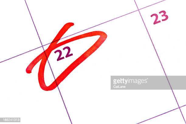 Rappel Date importante