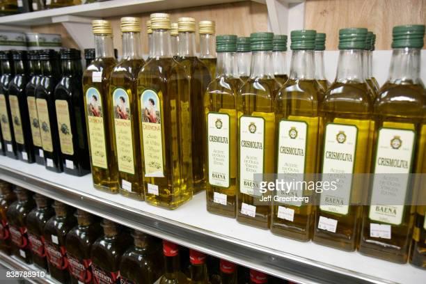 Imported olive oil for sale at Delicias de Espana
