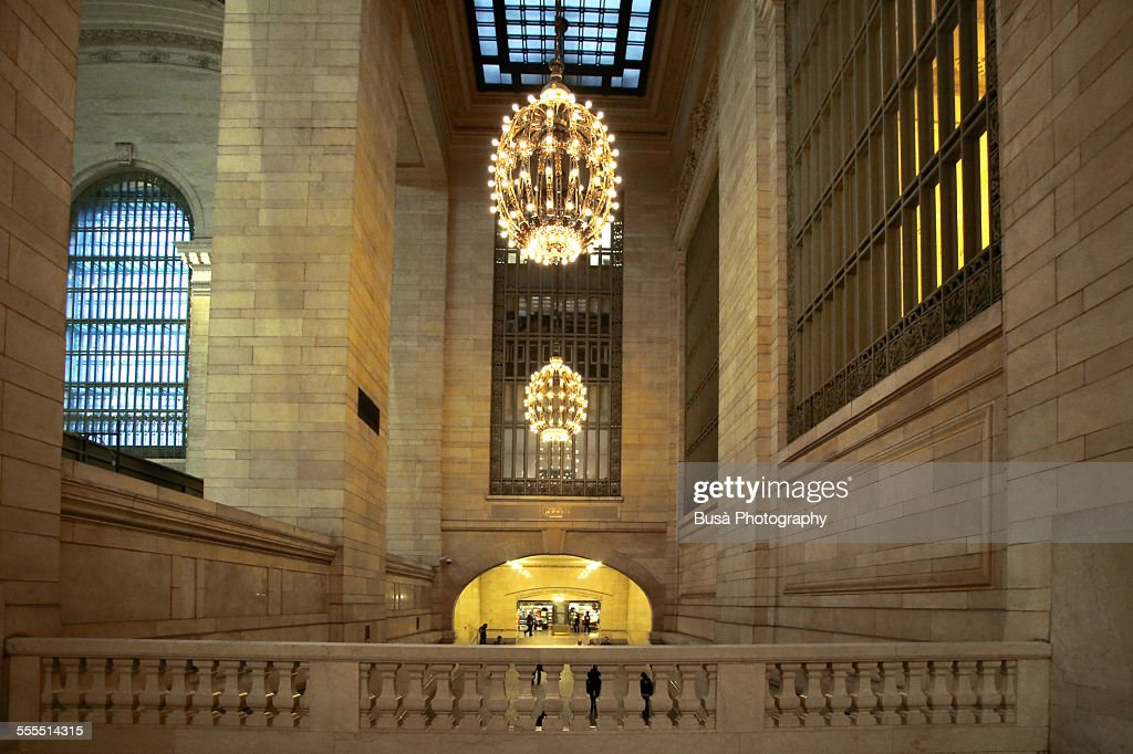 Imposing interiors of Grand Central Terminal, NY