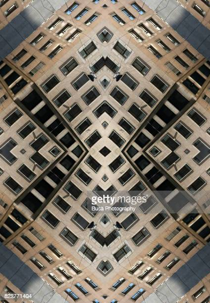Impossible architectures: digital manipulation of building facade in Milan, Italy